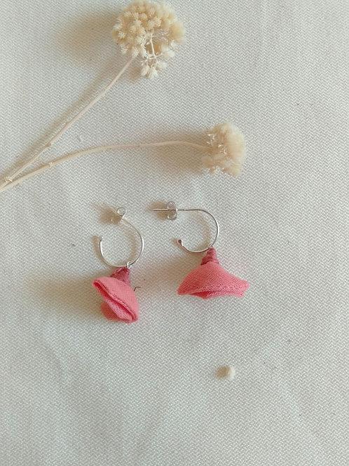 Aros pequeños Rosa