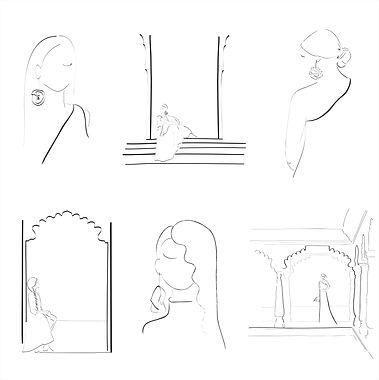 laminas sostenibles ilustraciones papel