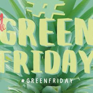 El 24 de noviembre celebra el #GreenFriday