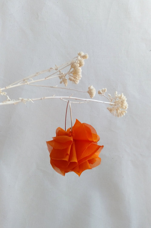 Pendientes Flor Naranjas