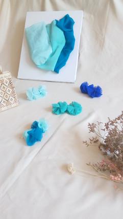 almar pendientes sostenibles azules estu