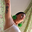 Thumbnail: Pendientes FLOR verde brillante