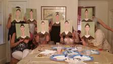 Modigliani Paint Party