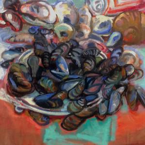 BLieberman mussels 16x16oil.jpg