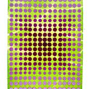 David Rufo Green Screen Watercolor on Arches Paper 7x5