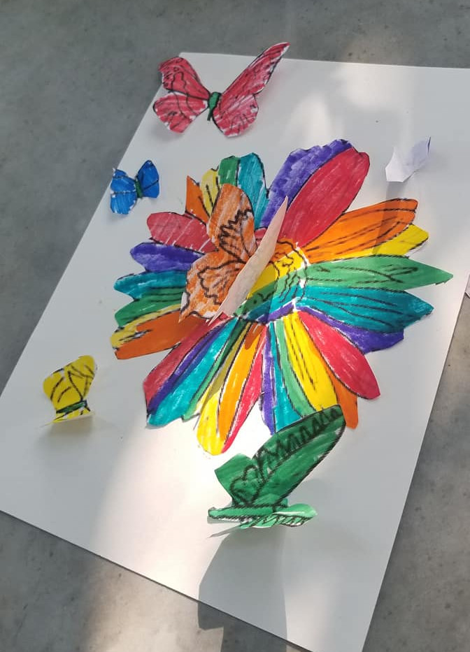 Flowers & Butterflies in 3D