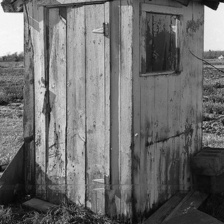 Gerard Gilibnerti Outhouse 11x14in Archi