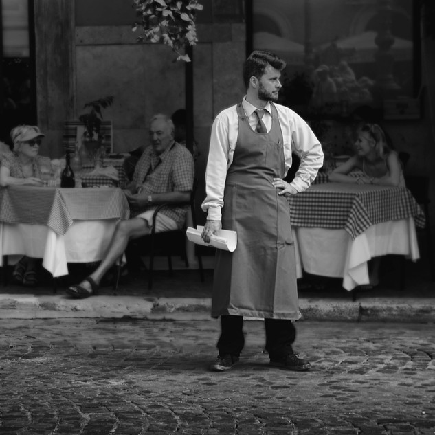 Jim Mannix WAITER WAITING  17 X 9.5 BW.j