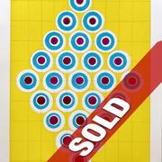 David Rufo Diamond Dot Yellow  wc 10x7