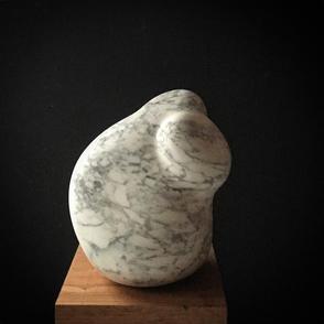 Sally Richardson Torso Hand carved marbl