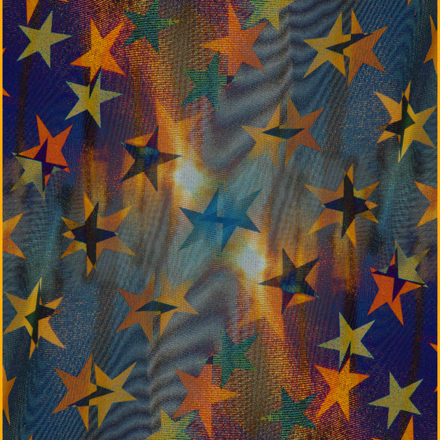 Jim Mannix stars and more stars  24 x 36