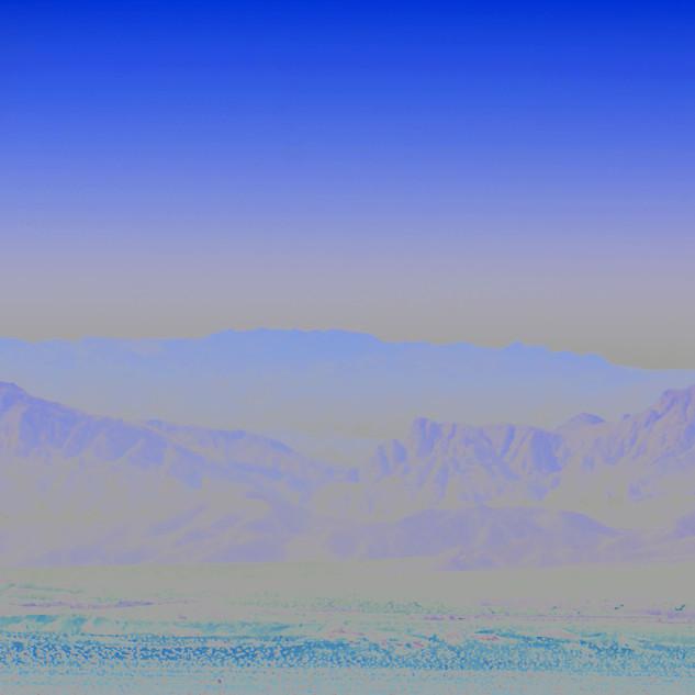 Jim Mannix BLUE HORIZON  30 X 16 METALIC