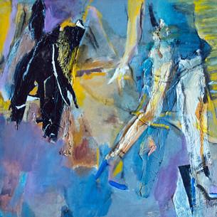 Marilyn Church Walking Free In Blues  18