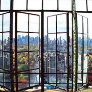 Betsy Pinover Schiff, Window AboveAbove Central Park, 11x17 photograph