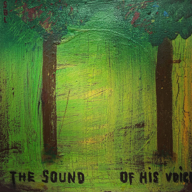 SBL the sound of his voice, 10x10, $990.