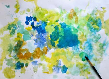Alzheimer's Watercolor
