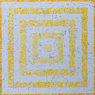 Angele LaSalle NYC 30x30 Acrylic on canv