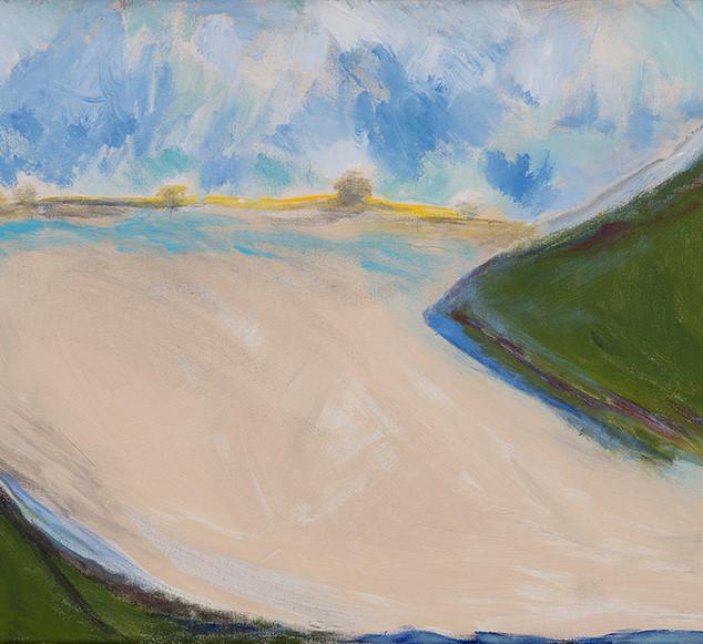 Beth Barry_Louse Point_acrylic on canvas