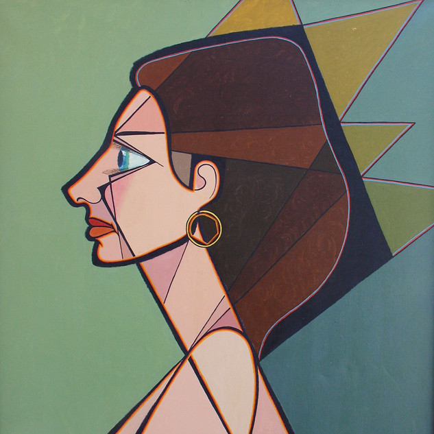 Portrait Of the Artist_s Wife 49x37 acry
