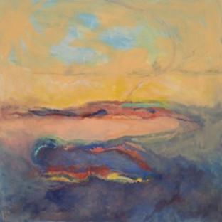 Beth Barry_Blue Shoreline_acrylic on can