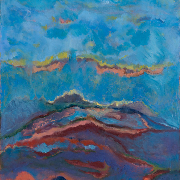 Beth Barry_Filtered Light_acrylic on can