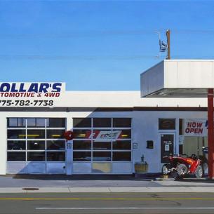 Michael Ward,  Hollars, 29 x 37, acrylic