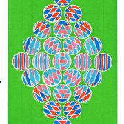 David Rufo Amgansett Dot Series 10x7 .Watercolor