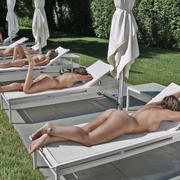 Dell Cullum -Lounging Sextuplets - 20x30 photograph