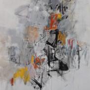 Fortitude, 48 X 40, mixed media canvas.j