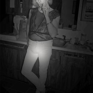 WHORE.jpg 14x11 Christina Stow