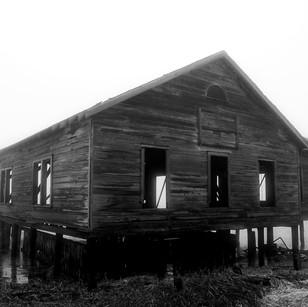 Paul Dempsey - Boat House - 20x30 - dye