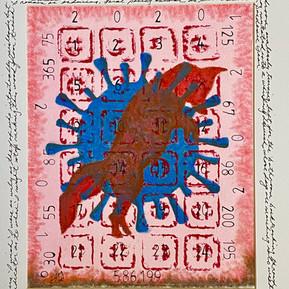 Joanlee Montefusco __Pandemic Year__Monotype,Pencil,Ink,Chalk 24__X19__framed $1,150.jpg