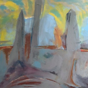 Beth Barry View From my Studio  30x40 .j
