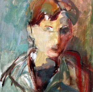 Marilyn Church The  Artist 16 x 20 acryl
