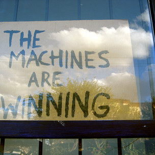 Gerard Giliberti-The Machines Are Winnin