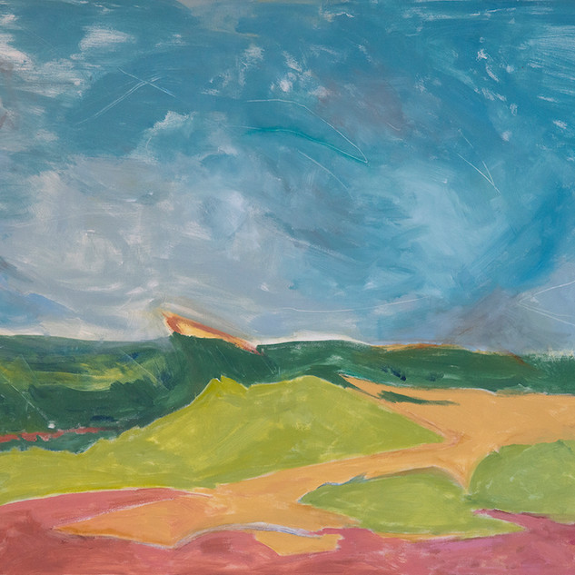 Beth Barry_Colors of Autumn_ 48x60__$400