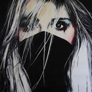 Cindy Press Speak_No_Evil,_40_x_30,_oil_on_canvas,_ï