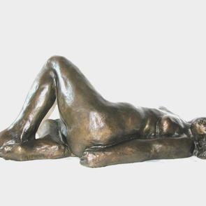 Abby Abrams , Sunbather, bronze, 15 inch