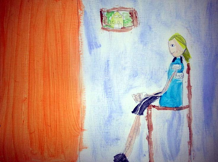 Whistlers Mother: 7 years old