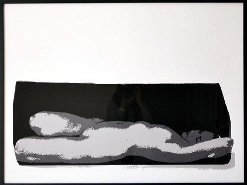 K. Mannix Nude in a Box Homage to Ruth Bernstein