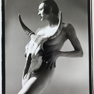 Luciana Pampalone_HornedGoddess_8x10.edition1_25.archival