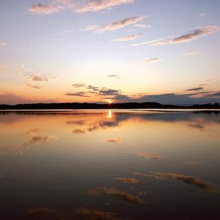 Paul Dempsey - Noyac Sunset - 20x40 dye