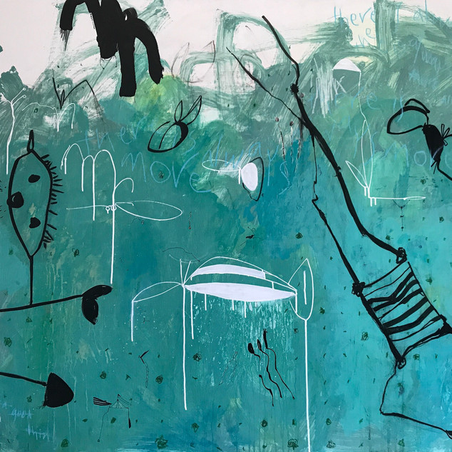 there is always more...., mixed media on