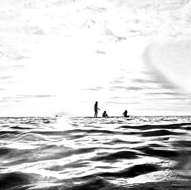 Sound Surf I - 16x20 - dye