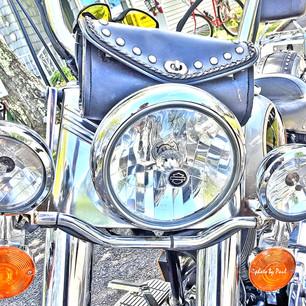 Paul Dempsey-Harley II-16x24-metal-$600.