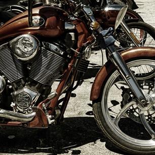 Jim Mannix  Sepia Bikers 20 x 13  Photog