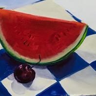 watermelon oil on panel 8x10 350.jpg