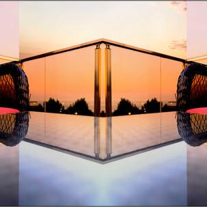 Jim Mannix table reflection Turkey 20 x