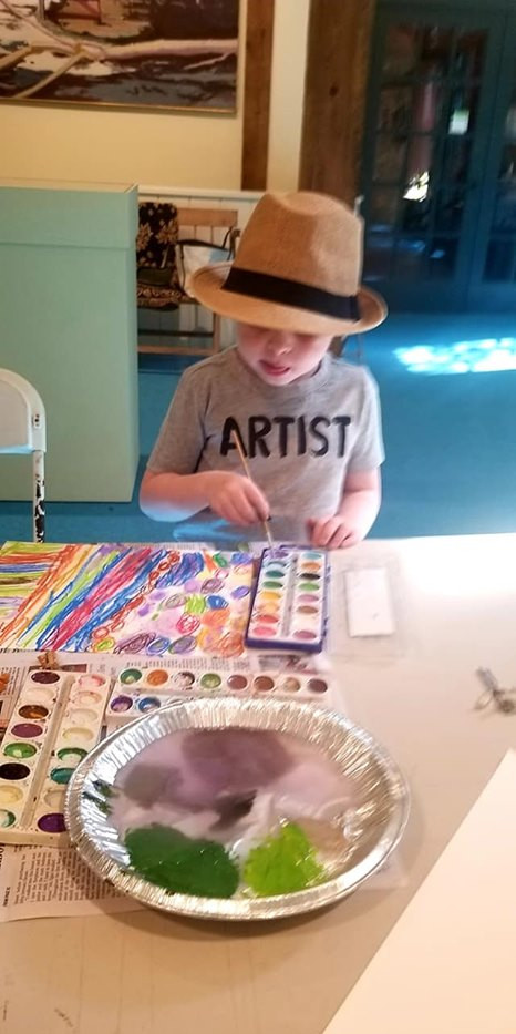 Artist in the Making