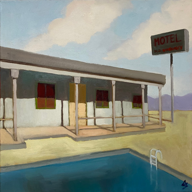 Motel 24x24 oil